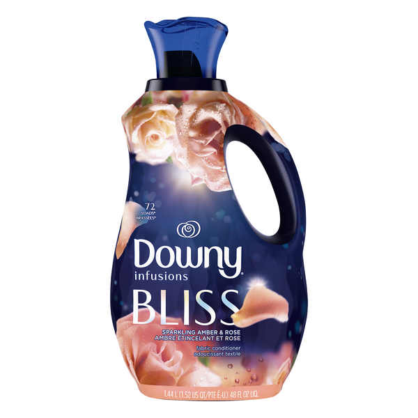 Downy Infusions Bliss Liquid Fabric Conditioner Amber & Rose Bliss