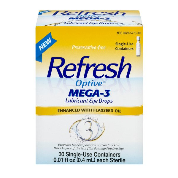 Refresh Optive MEGA-3 Lubricant Eye Drops