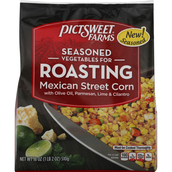 Pictsweet Farms Seasoned Vegetables for Roasting Mexican Street Corn