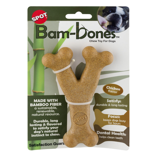 Spot Bam-bones Chew Toy For Dogs Chicken