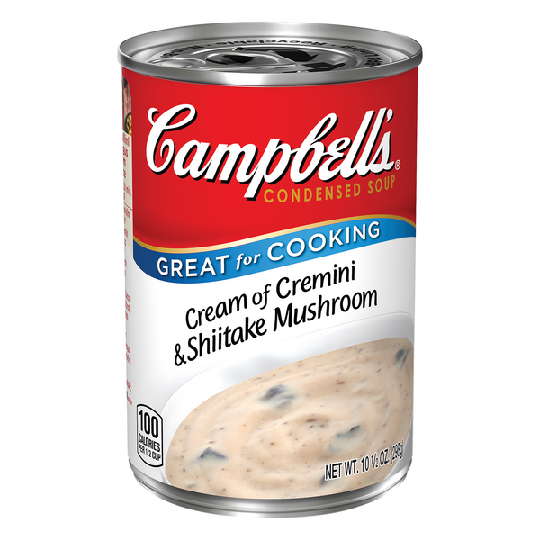 Campbell's Condensed Cream of Cremini & Shiitake Mushroom