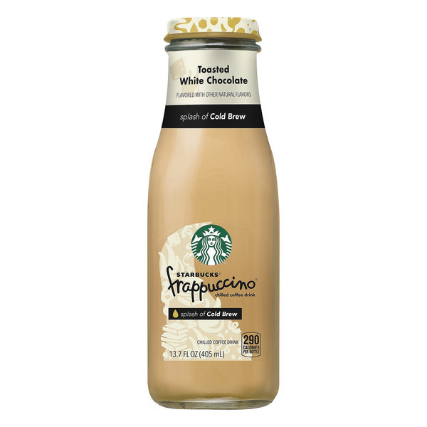 Starbucks Frappuccino Chilled Coffee Drink Toasted White Chocolate