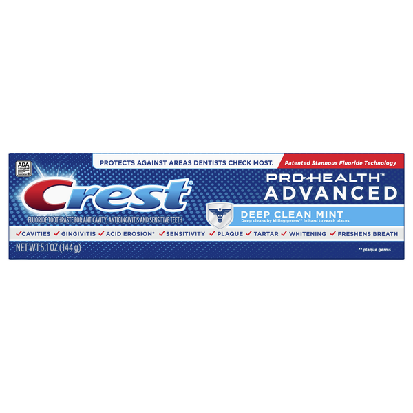 Crest Pro-Health Advanced Toothpaste Deep Clean Mint
