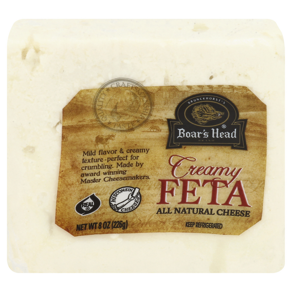 Boar's Head Creamy Feta Cheese All Natural