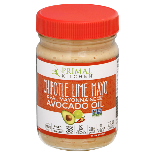 Primal Kitchen Mayo Chipotle Lime with Avocado Oil