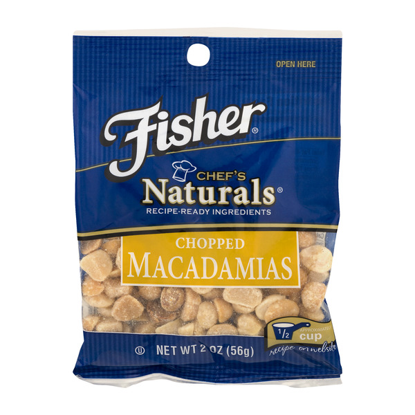 Fisher Chef's Naturals Macadamias Chopped