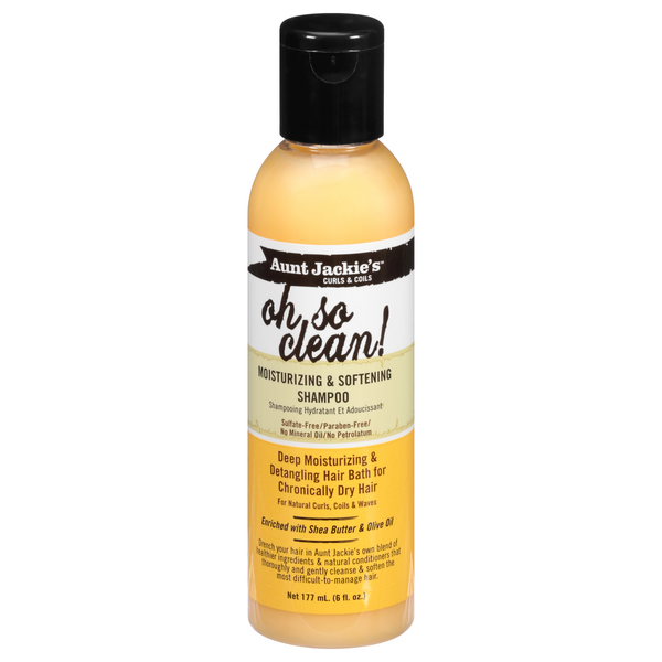 Aunt Jackie's Oh So Clean! Moisturizing & Softening Shampoo