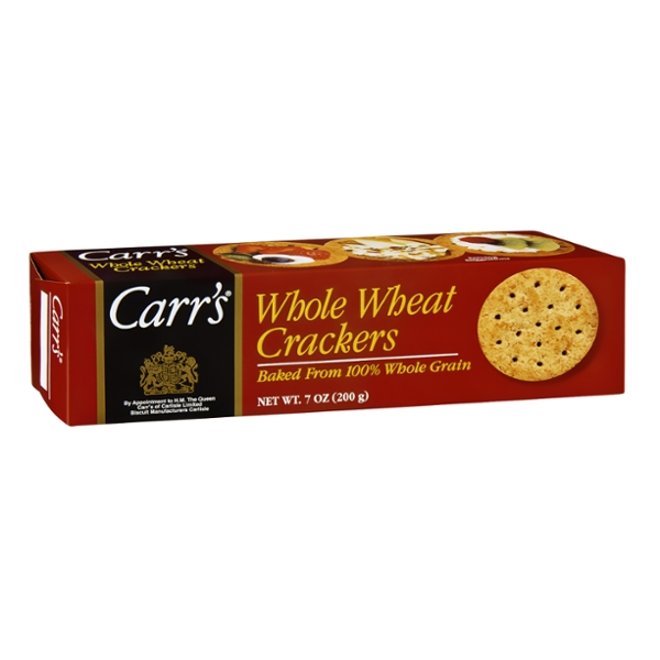Carr's Crackers Whole Wheat
