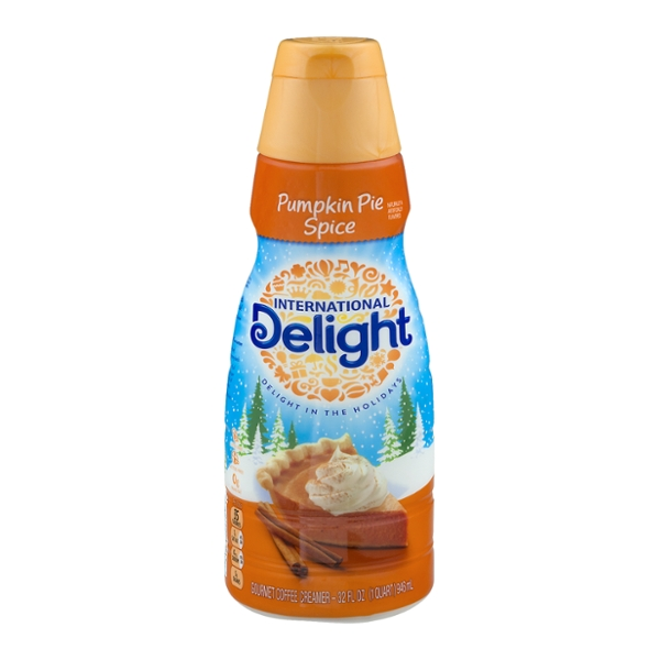 International Delight Coffee Creamer Pumpkin Pie Spice Refrigerated
