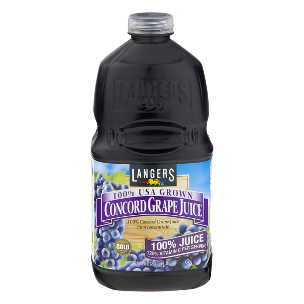 Langers 100% Concord Grape Juice