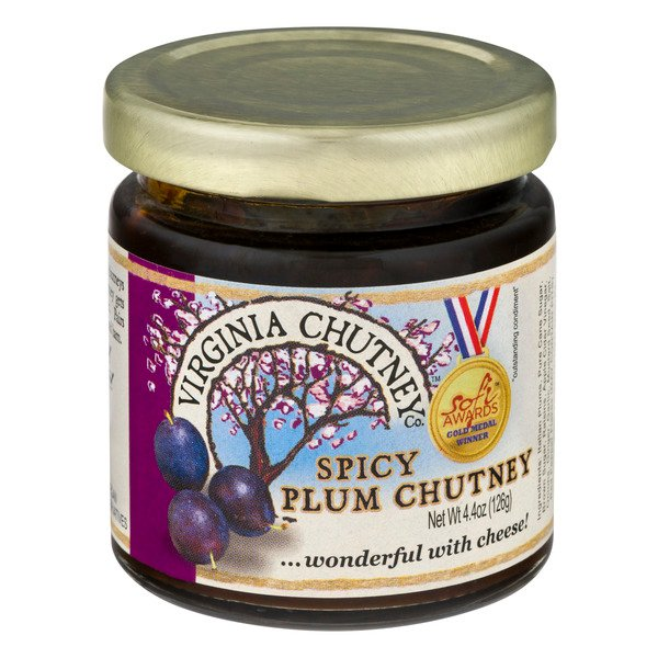 Virginia Chutney Plum Chutney Spicy