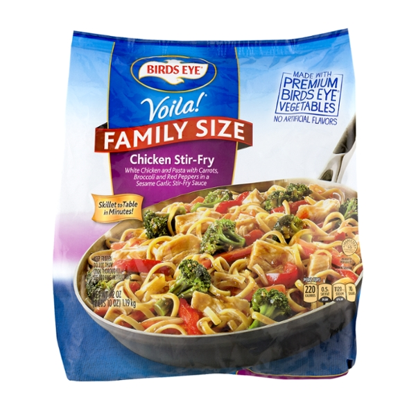 Birds Eye Voila! Skillet Meal Chicken Stir-Fry Family Size