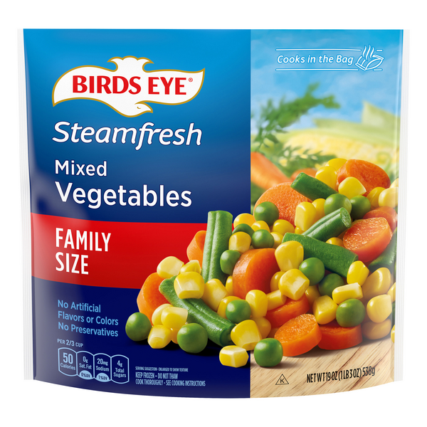 Birds Eye Steamfresh Mixed Vegetables Family Size
