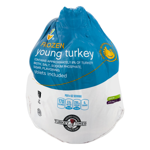 Giant Young Turkey Whole Grade A Frozen