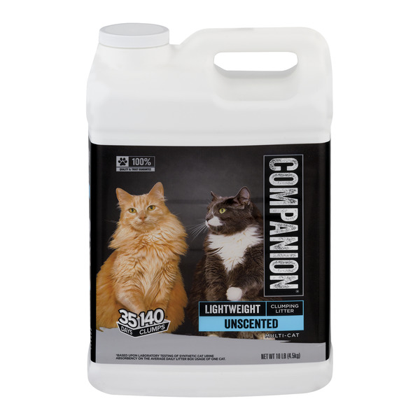 Companion Lightweight Clumping Cat Litter Unscented