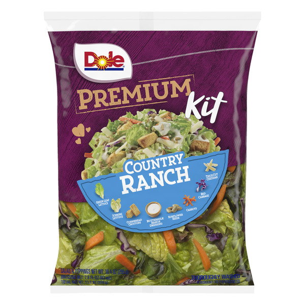Dole Premium Salad Kit Country Ranch