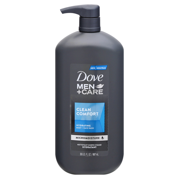 Dove Men + Care Hydrating Body & Face Wash Clean Comfort