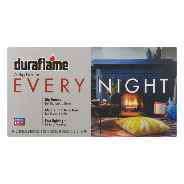 Duraflame Every Night 2.5-hr Firelogs - 6 ct