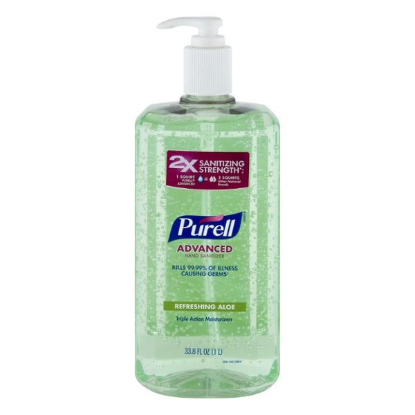 Purell Advanced Hand Sanitizer Refreshing Aloe Pump