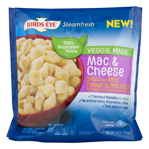 Birds Eye Veggie Made White Cheddar Mac & Cheese