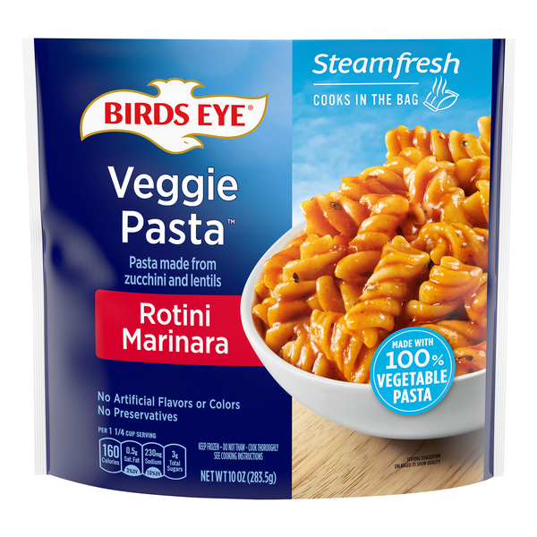 Birds Eye Steamfresh Veggie Pasta Rotini Marinara