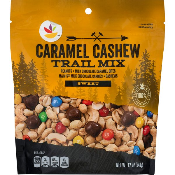 Stop & Shop Sweet Trail Mix Caramel Cashew
