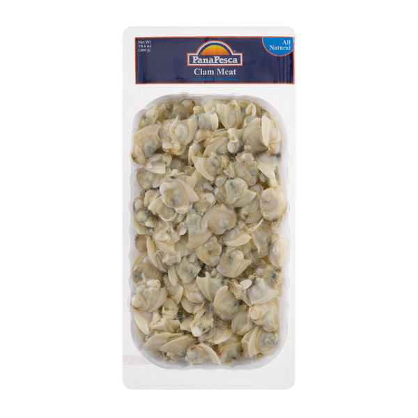 PanaPesca Clam Meat Fully Cooked Frozen All Natural