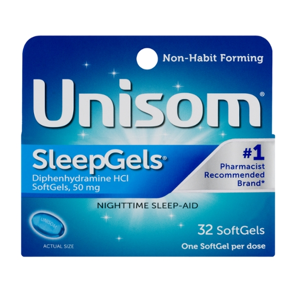 Unisom Sleep Aid SleepGels