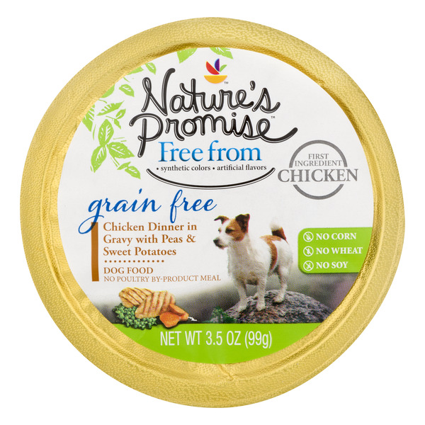 Nature's Promise Grain Free Dog Food Chicken Dinner in Gravy