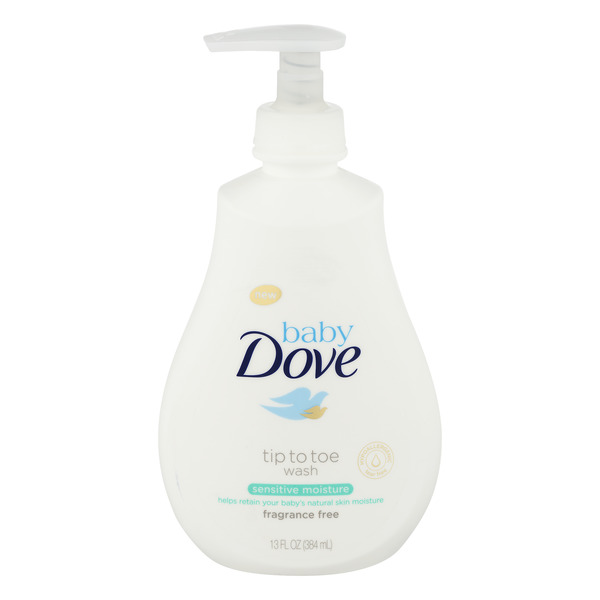 Baby Dove Tip To Toe Body Wash Sensitive Moisture