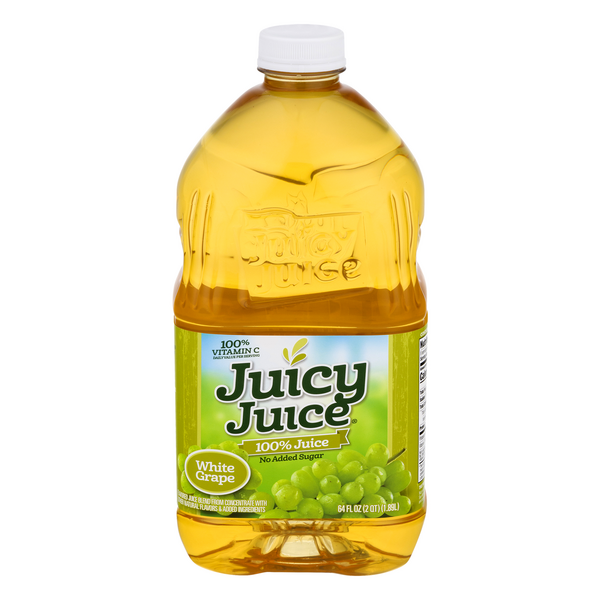 Juicy Juice 100% Juice White Grape No Added Sugar