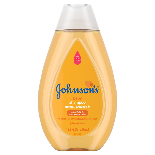 Johnson's Baby Shampoo No Parabens, Phtalates, Sulfates or Dyes