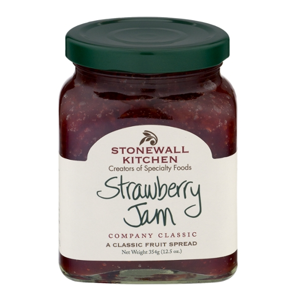 Stonewall Kitchen Jam Strawberry All Natural