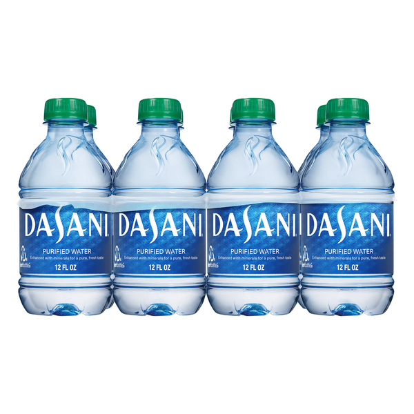 Dasani Purified Water - 8 pk