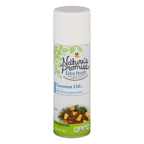 Nature's Promise Free from Coconut Oil Non Stick Cooking Spray