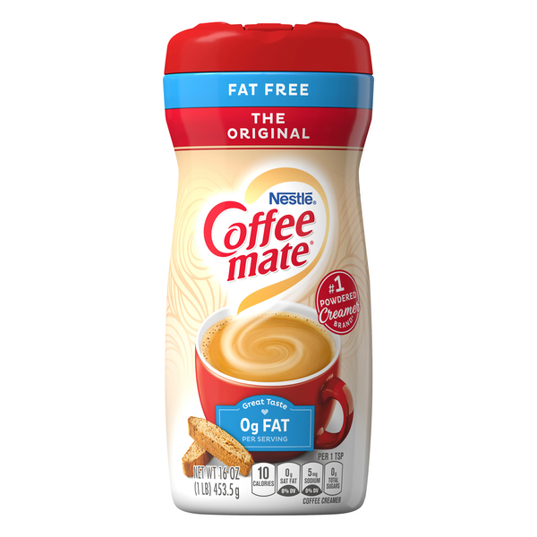 Nestle Coffee-mate Powder Coffee Creamer Original Fat Free
