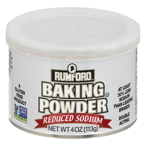 Rumford Baking Powder Reduced Sodium Gluten Free