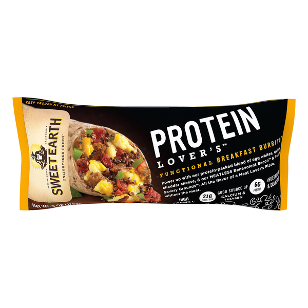 Sweet Earth Functional Breakfast Burrito Protein Lover's