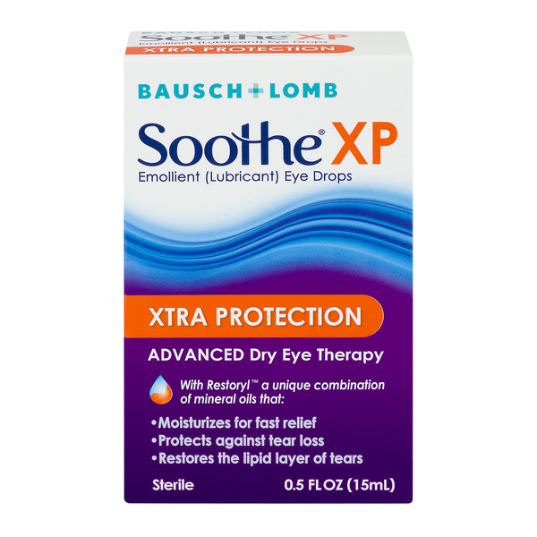 Soothe NP Xtra Protection Advanced Dry Eye Drops Therapy