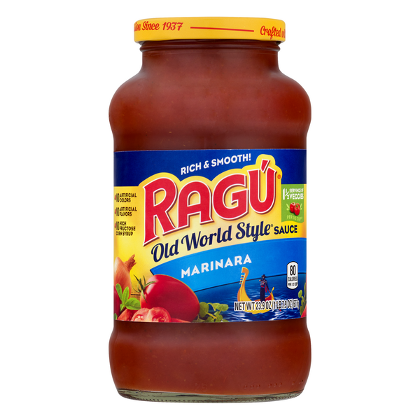 Ragu Old World Style Pasta Sauce Marinara