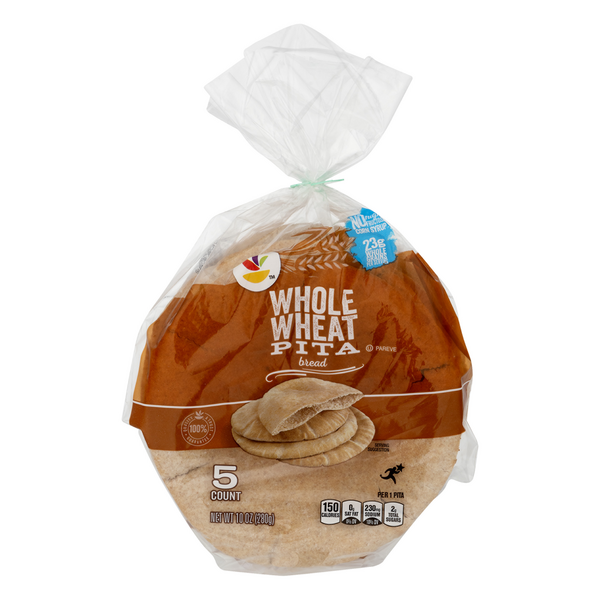 Giant Pita Bread Whole Wheat - 5 ct