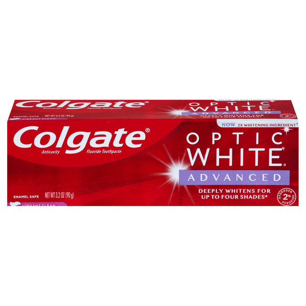 Colgate Optic White Advanced Toothpaste Vibrant Clean