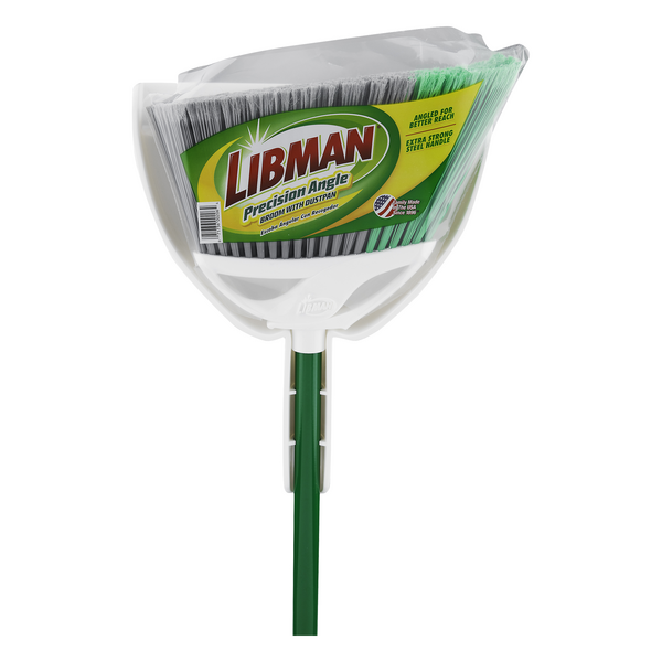 Libman Angle Broom & Dustpan
