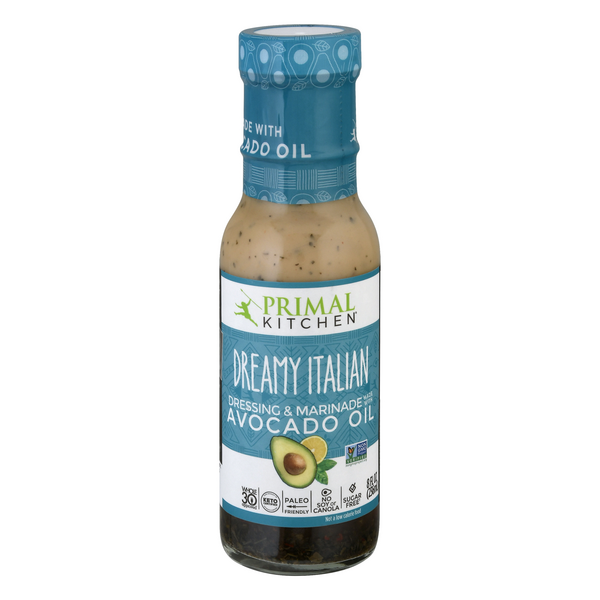 Primal Kitchen Dreamy Italian Dressing & Marinade with Avocado Oil