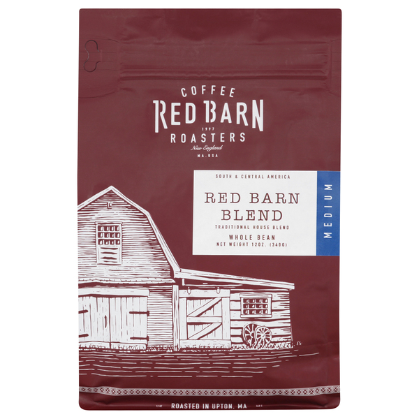 Red Barn Coffee Roasters Red Barn Blend Medium Roast Coffee (Whole Bean)
