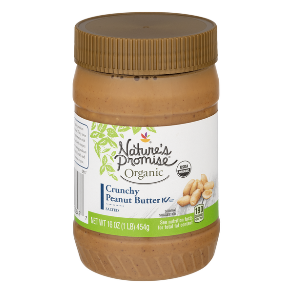 Nature's Promise Organic Peanut Butter Crunchy