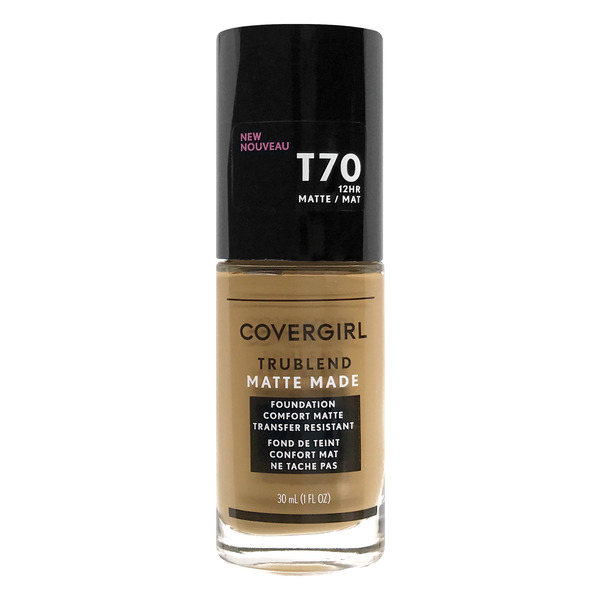 CoverGirl TRUBLEND Matte Made Foundation Caramel T70