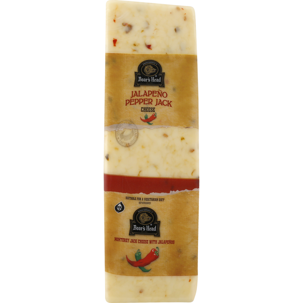 Boar's Head Deli Monterey Jack Cheese with Jalapeno (Regular Sliced)