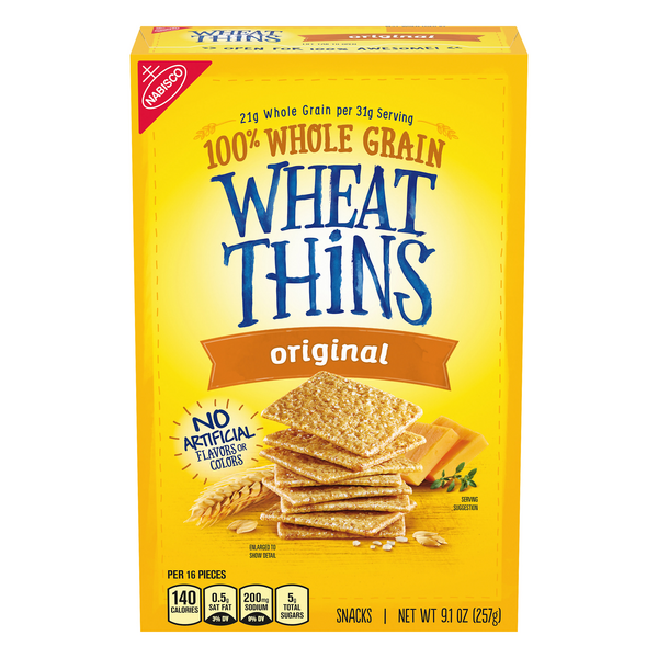 Nabisco Wheat Thins Crackers Original