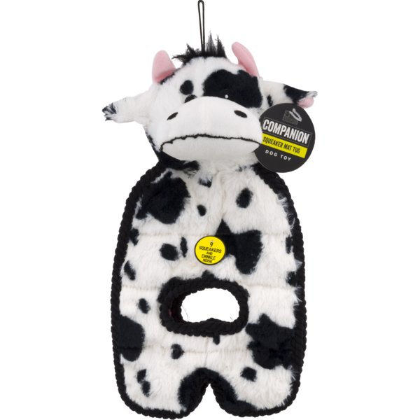 Companion Squeaky Tug Dog Toy